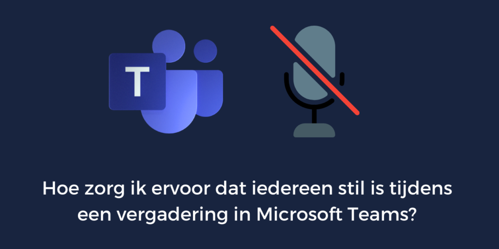 vergadering in microsoft teams