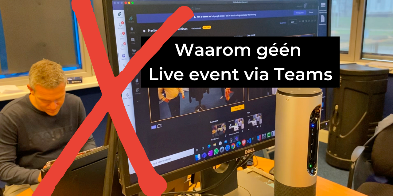 online live event microsoft teams
