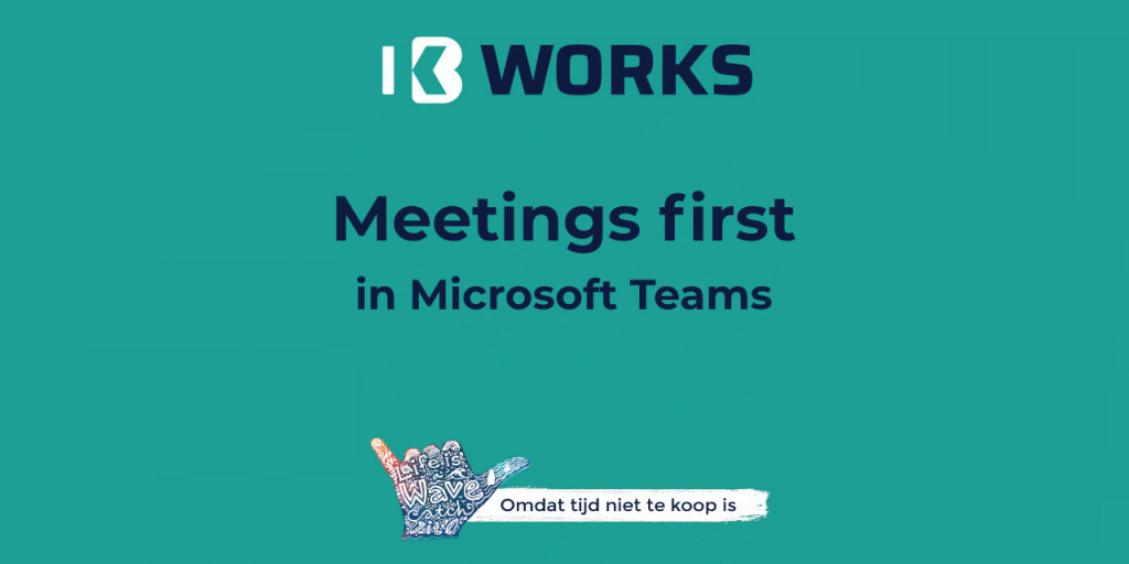 Meetings first